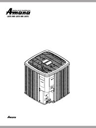 amana air conditioner asx 14 seer user guide manualsonline com