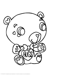 teddy bear valentine coloring pages getcoloringpages com