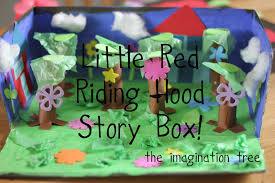 Monster In A Box Halloween Prop by Little Red Riding Hood Story Box The Imagination Tree