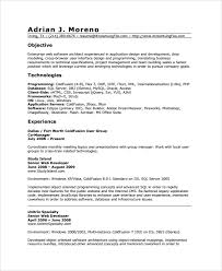 Gis Resume Template Sample Web Developer Resume 7 Free Documents Download In Word Pdf
