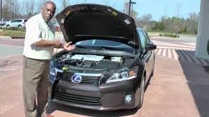 lexus nx memphis under the hood with tom burgess and the lexus ct200h youtube