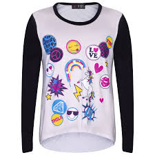 Unicorn Clothes For Girls Girls Top Kids Unicorn Love Emojis Print T Shirt Tops U0026 Jegging