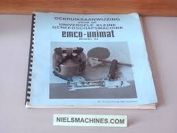 emco sold emco unimat sl 4 jaw independent chuck with key niels