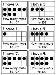 145 best ten frame images on pinterest kindergarten math ten