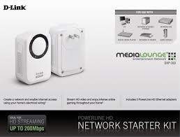 Tpl 406e2k Amazon Com D Link Dhp 303 Powerline Hd Network Starter Kit