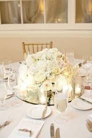 Wedding Centerpieces For Round Tables by Best 25 Low Centerpieces Ideas On Pinterest Gold Vase