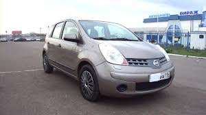 nissan note 2009 interior 2008 nissan note start up engine and in depth tour youtube