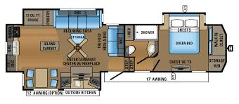 flagstaff rv floor plans 5th wheel floor plans with rear kitchen google search rv