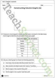 statistics worksheets year 4 teaching resource u2013 teach starter