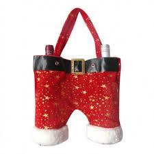 wine bottle gift bags christmas wine bottle gift bags santa s trousers two bottle gift bag