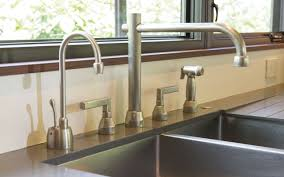 kitchen deck mount faucet with straight spout dmf rocky