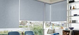 Blue And White Striped Blinds Roller Blinds Luxaflex