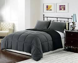 gray and down comforter black elegance and distinction down