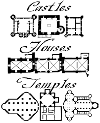 Medieval Floor Plans Mapmaker Fonts Antique Maps And Cartography Tools