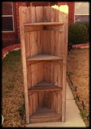 Building Wood Shelf Unit by Best 25 Diy Corner Shelf Ideas On Pinterest Corner Shelf