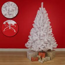 funky buys funkybuys slim white colorado spruce artificial