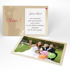 carte mariage carte de remerciement mariage personnalisée faire part