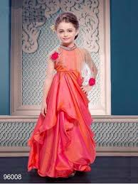 party wear dress gunj flower and work baby girl party wear dress