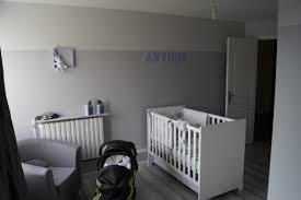 chambre bébé grise et magnifique extérieur schème particulièrement décoration chambre bébé