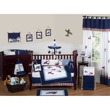 Lambs And Ivy Bedding For Cribs by Bedding Geenny Boutique Airplane Aviator Piece Crib Bedding Set