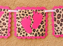 cheetah baby shower cheetah print baby shower decorations baby shower ideas
