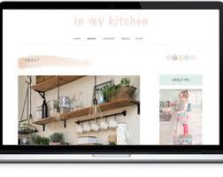 blog kit blog photoshop template website design kit