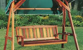 Swings Patio Patio U0026 Pergola Wooden Patio Swing Outstanding Wood Magazine
