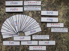 montessori learning aids cvc words 3 4 5 letter words all