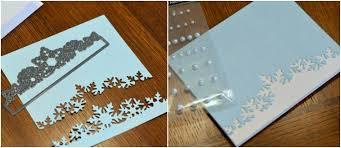 homemade snowflake christmas cards u2013 happy holidays