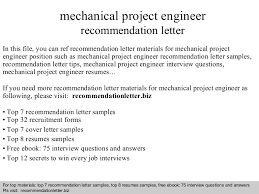 ideas of letter of recommendation sample for engineering job about