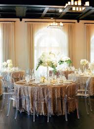 reception décor photos beach glam reception with ghost chairs