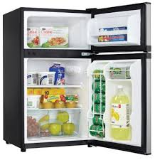 hhgregg refrigerator black friday danby 3 1 cu ft spotless steel dual door compact refrigerator