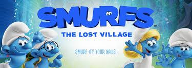 smurfs lost village nailsnaps