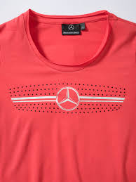 pink mercedes png t shirt damen