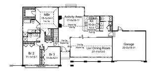 Floor Plans In Spanish La Jolla Spanish Ranch Home Plan 008d 0060 House Plans And More