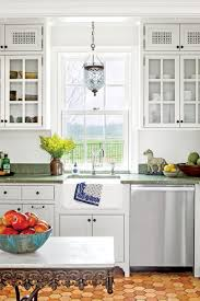 Pictures Of Kitchens With White Cabinets And Black Countertops Kitchen Inspiration Southern Living