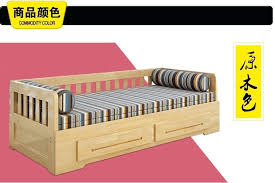 Sofa Folding Bed Wooden Sofa Bed Meters Of Solid Wood Sofa Bed Dual Sliding