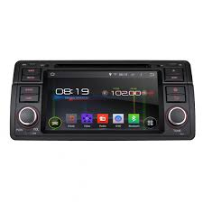 bmw e46 android 4 4 car stereo with quad core car dvd 1 din radio