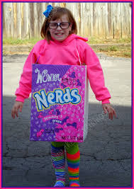 Diy Homemade Nerds Candy Halloween Costume The Small Things