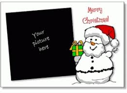 christmas card template free printable business template