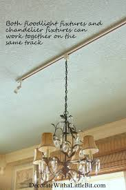 From A Chandelier Andrea Fictilis Bortolin Hang A Chandelier From Track Lighting