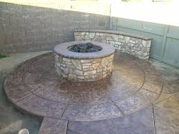 concrete block fire pit plan how to build concrete block fire