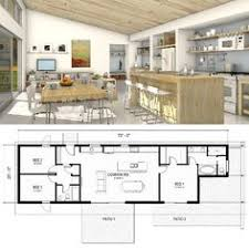 great room house plans one story modern farmhouse plan 888 13 architectnicholaslee www