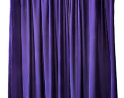 purple curtain etsy