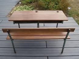 bureau ecolier en bois bureau d ecolier l atelier de nanouchka