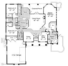 mediterranean floor plans with courtyard house plans with courtyard garage entry house plans