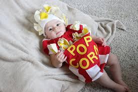 baby popcorn costume toddler newborn halloween costume photo