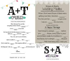 wedding mad lib template wedding mad libs achor weddings