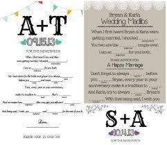 wedding mad libs template wedding mad libs wedding mad libs achor weddings
