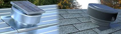 roofing u0026 attic ventilation solar vents commercial roof vents